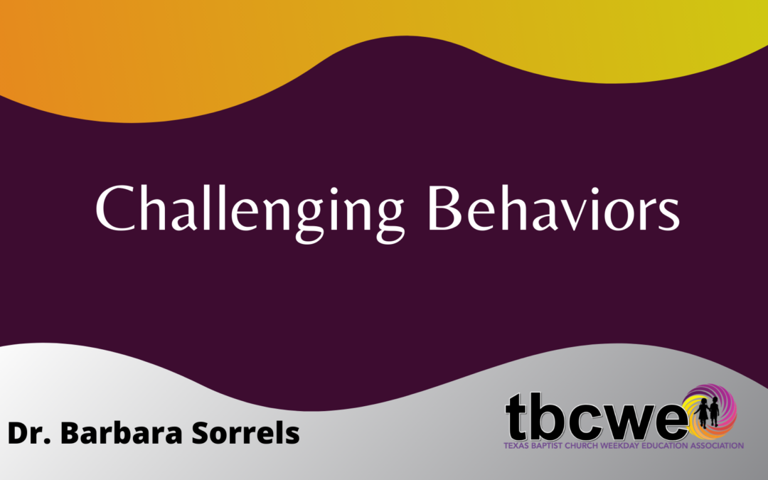 Challenging Behavior: What Does It Mean And What Does It Tell Us?